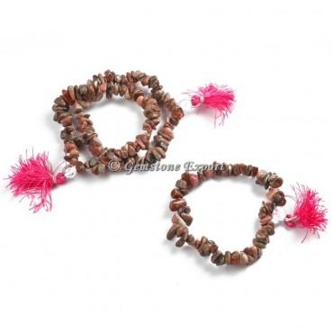 Red Jasper Chips Yoga Bracelets