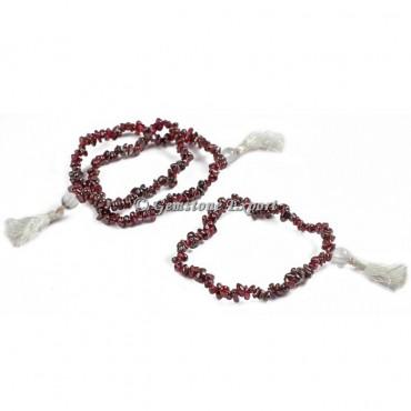 Granet Chips Yoga Bracelets