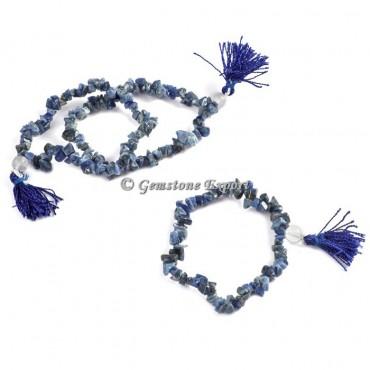 Sodalite Chips Yoga Bracelets