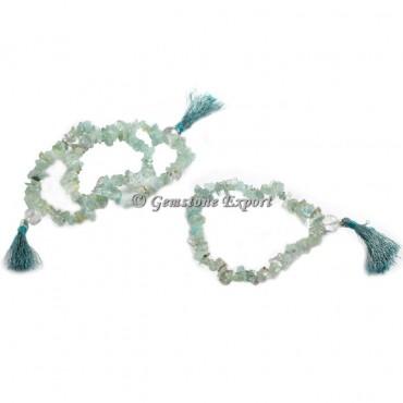 Aqua Marine Chips Yoga Bracelets