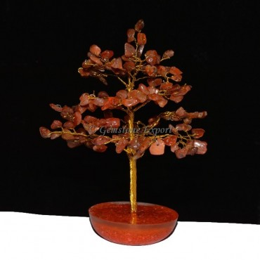 Carnellain 300pcs Chips Tree with Orgone Base