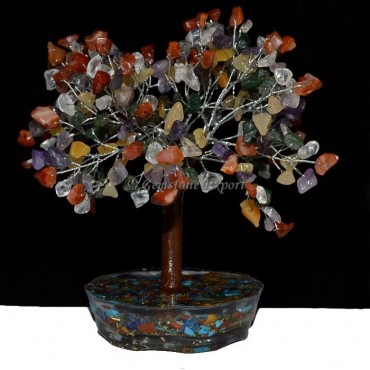 500pcs chips Tree With Orgone Base