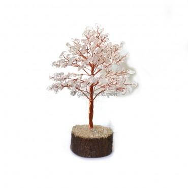 Crystal Quartz Gemstone Tree