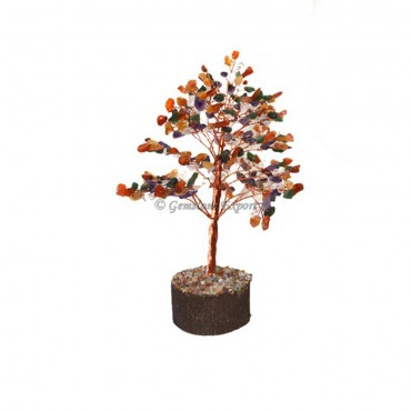 Assorted Gemstone Tree