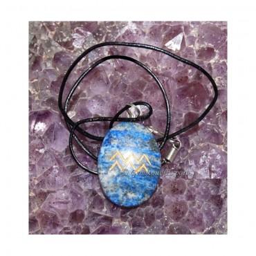 Lapis Lazuli Zodiac Signs Pendants