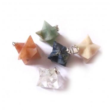 Merkaba Star Pendants