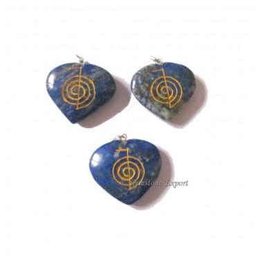Lapis Lazuli Cho-Ko-Reiki Pendants