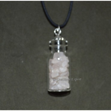 Quartz Bottle Pendants