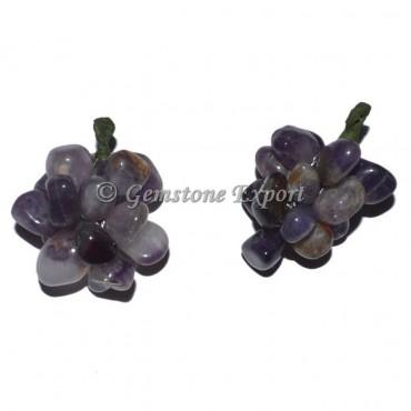 Amethyst Grapes Pendants