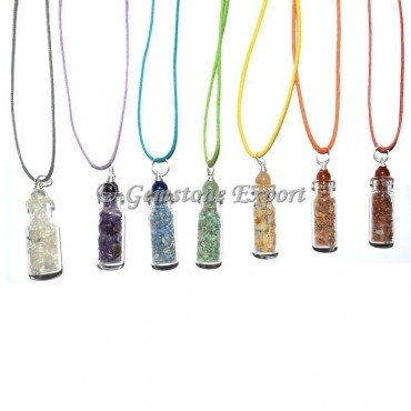 Mix Gemstone Bottle Pendants
