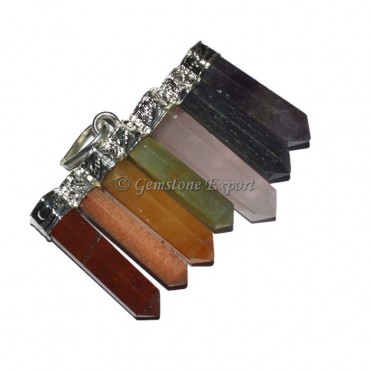 Joint Pencil Stones Pendants