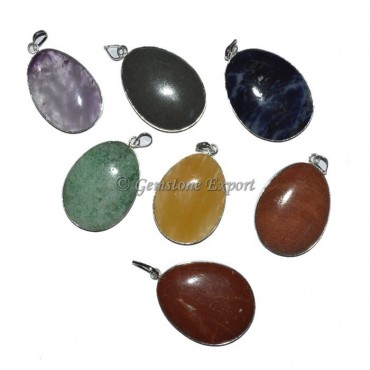 Eggs Shape Oval Pendant