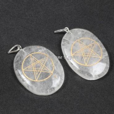 Crystal Pentagram Pendants