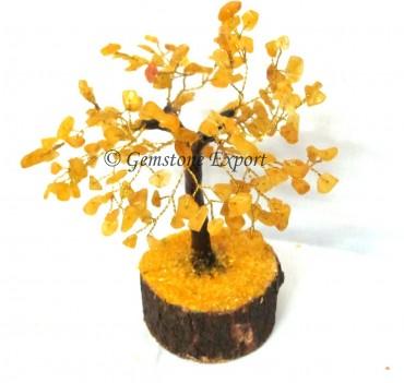 Golden Quartz Stone Tree