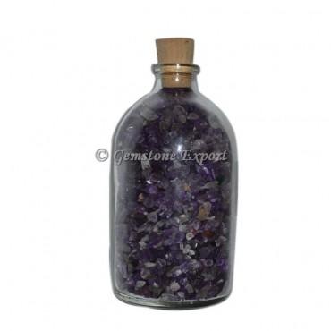 Amethyst Big Size Gems Bottle