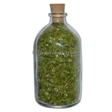 Peridot Big Size Gems Bottle