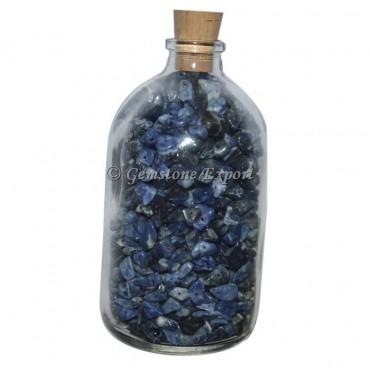 Sodalite Big Size Gems Bottle