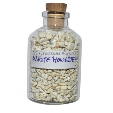 Howlite Mini Gems Bottle