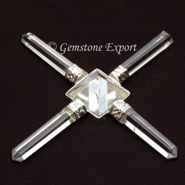 Crystal Quartz Pyramids Generator