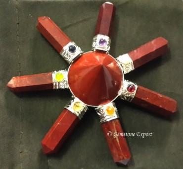Red Jasper Chakra Energy Generator