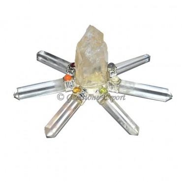 Natural Crystal Hammered Chakra Generator