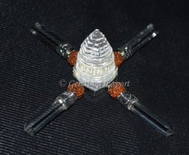 Shree Yantra Generator with Rudraksha