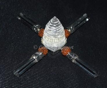 Shree Yantra Generator with Rudraksha