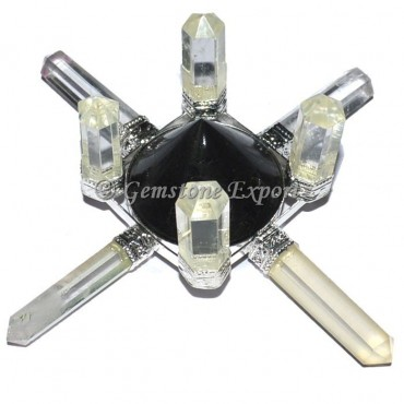 Crystal Quartz and Tourmaline Meditation Generator