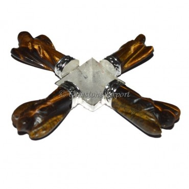 Tiger Eye Angel Energy Generator