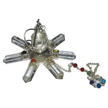 Crystal Quartz Chakra Dowsing Energy Generator
