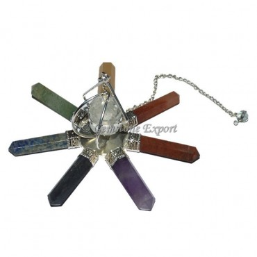 Seven Chakra Generator With Dowsing Chain