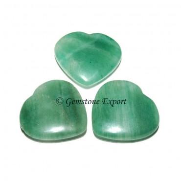 Green Aventurine Small Hearts