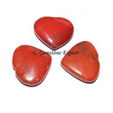 Red Jasper Small Hearts