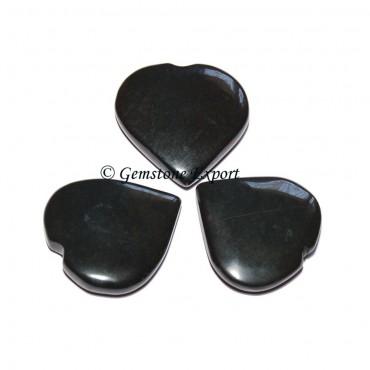 Black Agate Small Hearts