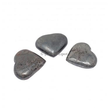 Hematite Big Hearts