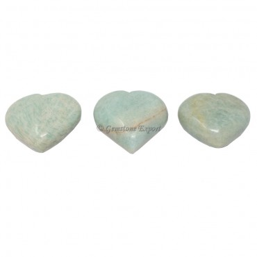 Amazonite Big Hearts