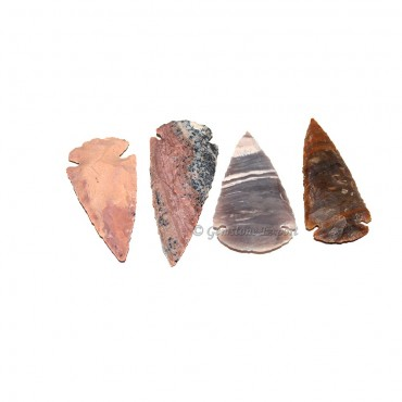 Agate  Arrowheads 3.00 Inch to 3.50 Inch