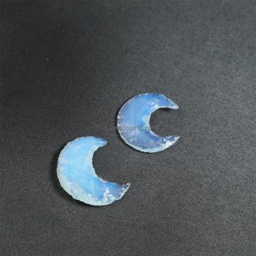 Opalite Moon Arrowheads