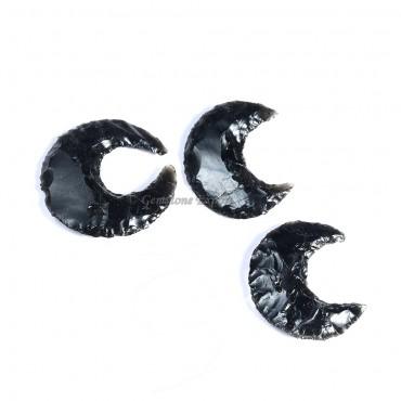 Black Obsidian Moon