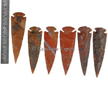 Agate Arrowheads 5 Inch