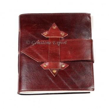 Dark Red hand made Leather Journals