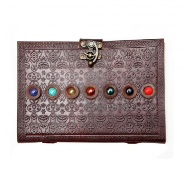 Chakra Leather Journals