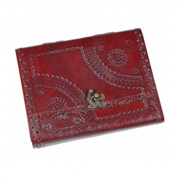 Red Hand made Leather Journals