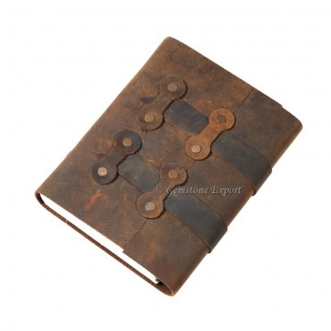 Antique Brown Leather Journals
