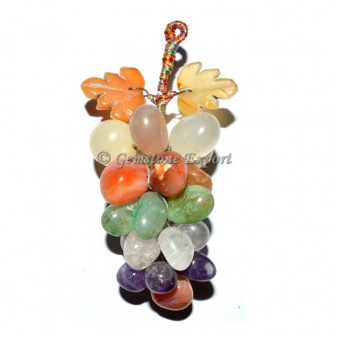 Mix Gemstone Hanging Grapes