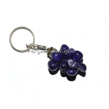 Blue Grapes Keychain