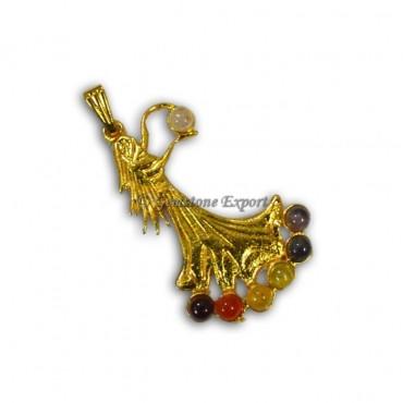 Chakra Angel Gold Pendants