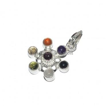 Mini Seven Chakra Pendant