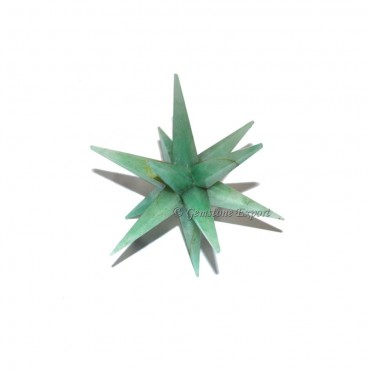 Green Aventurine 12 Point Star