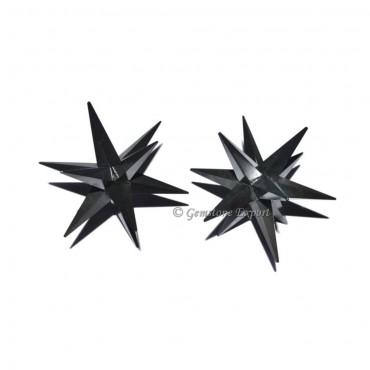 Tourmaline 12 Point Star